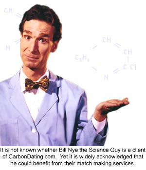 Bill Nye the Science guy is one desperate scientist