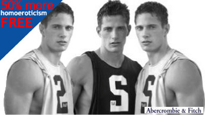 Abercrombie Offers '50% More Homoeroticism Free!'