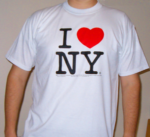 I love New York t-shirts are a classic! Tell the world of you love for NYC with and I love ny shirt
