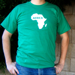 Show your love for the dark continent of Africa
