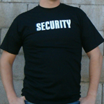 Security T-Shirts for events
